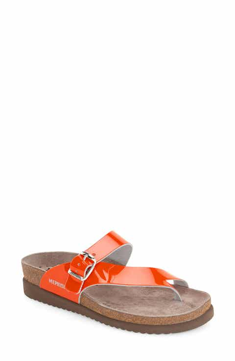 d7630605239 Women's Orange Comfort Sandals: Wedge, Flat & Peep Toe | Nordstrom