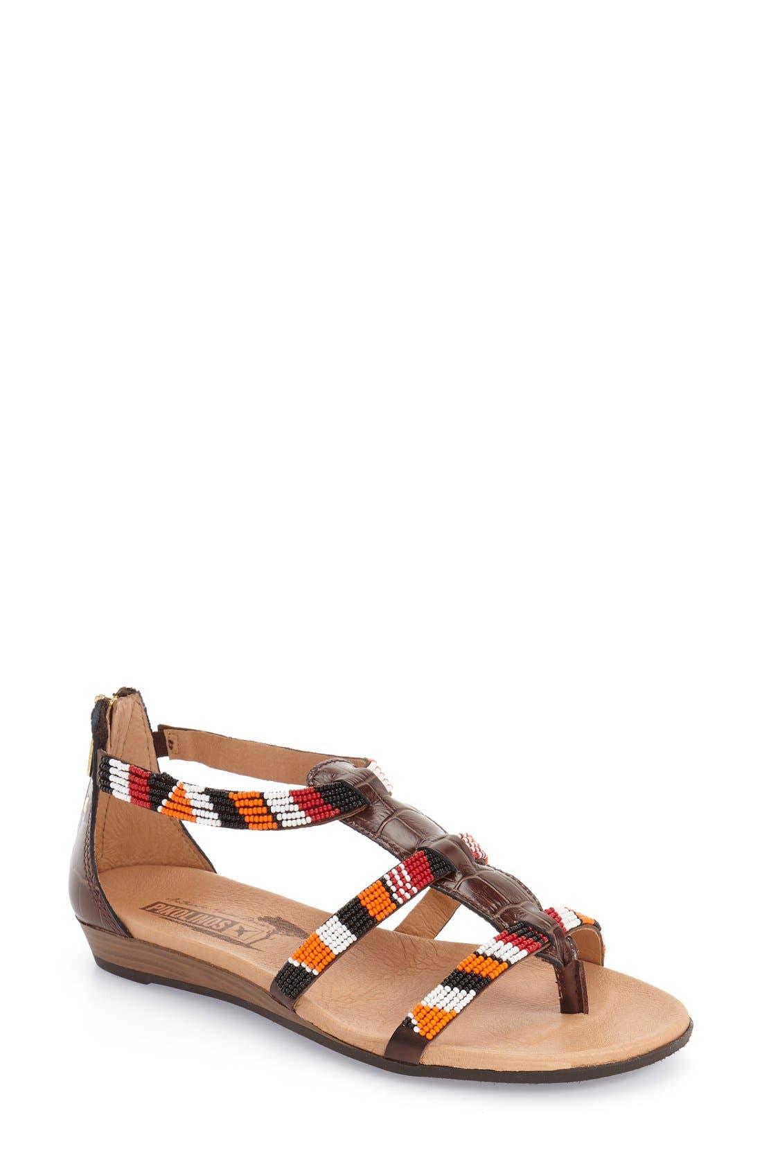 PIKOLINOS 'Alcudia' Hand Beaded Sandal (Women)