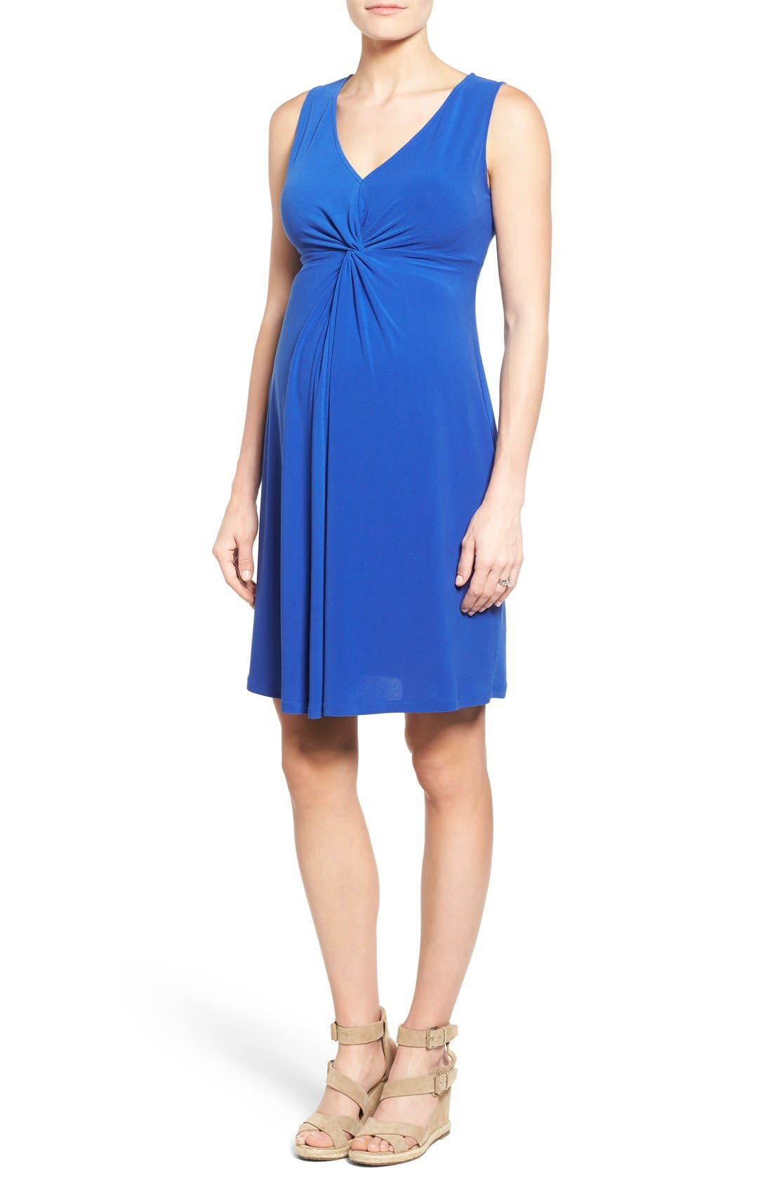 LEOTA Sleeveless Maternity Dress