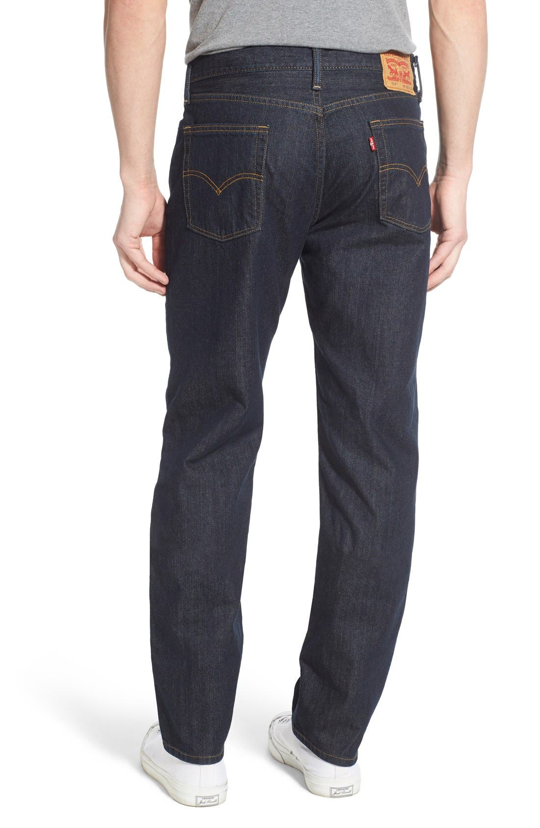 Alternate Image 2  - Levi's® 514™ Straight Leg Jeans (Tumbled Rigid) (Regular & Tall)