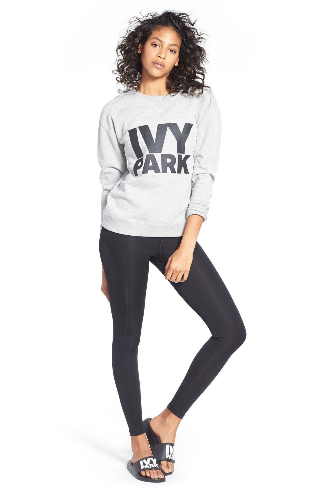 Alternate Image 2  - IVY PARK® Logo Crewneck Sweatshirt