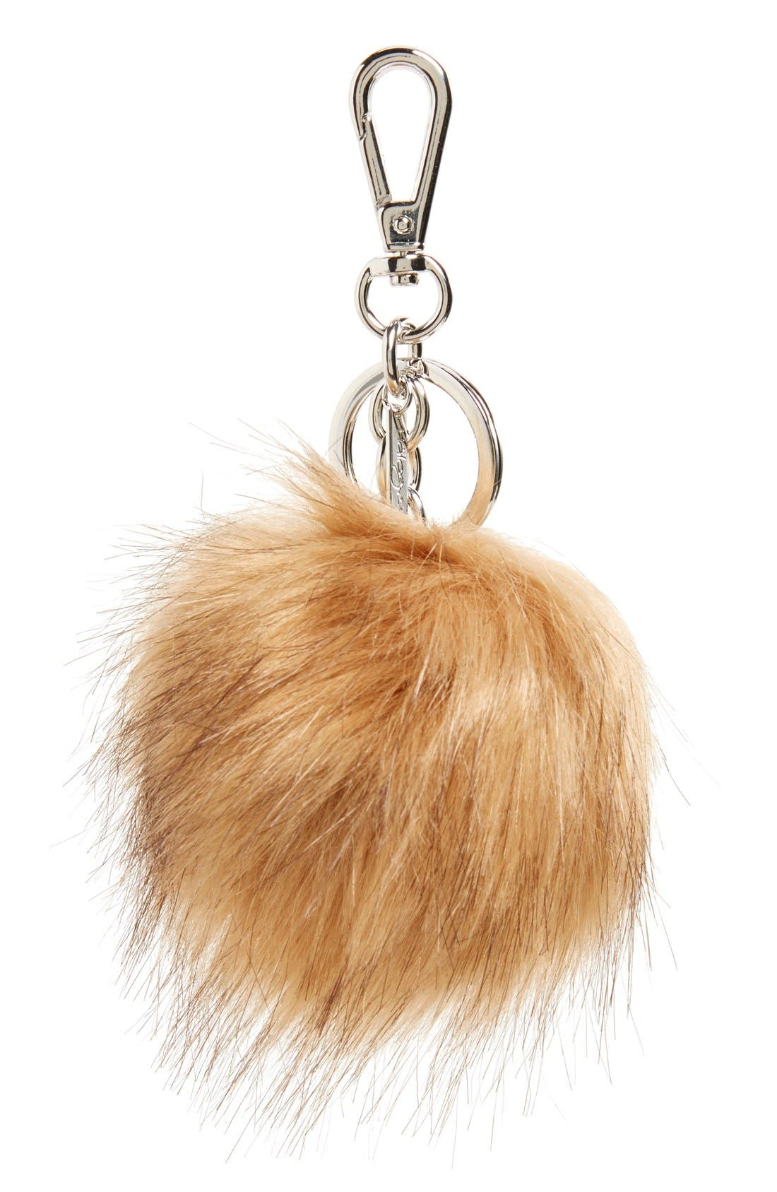 Main Image - Halogen® Faux Fur Pom Bag Charm