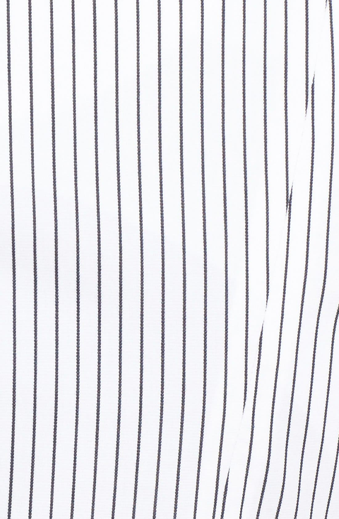 Alternate Image 5  - Nordstrom Collection 'City Stripe' Collarless Jacket
