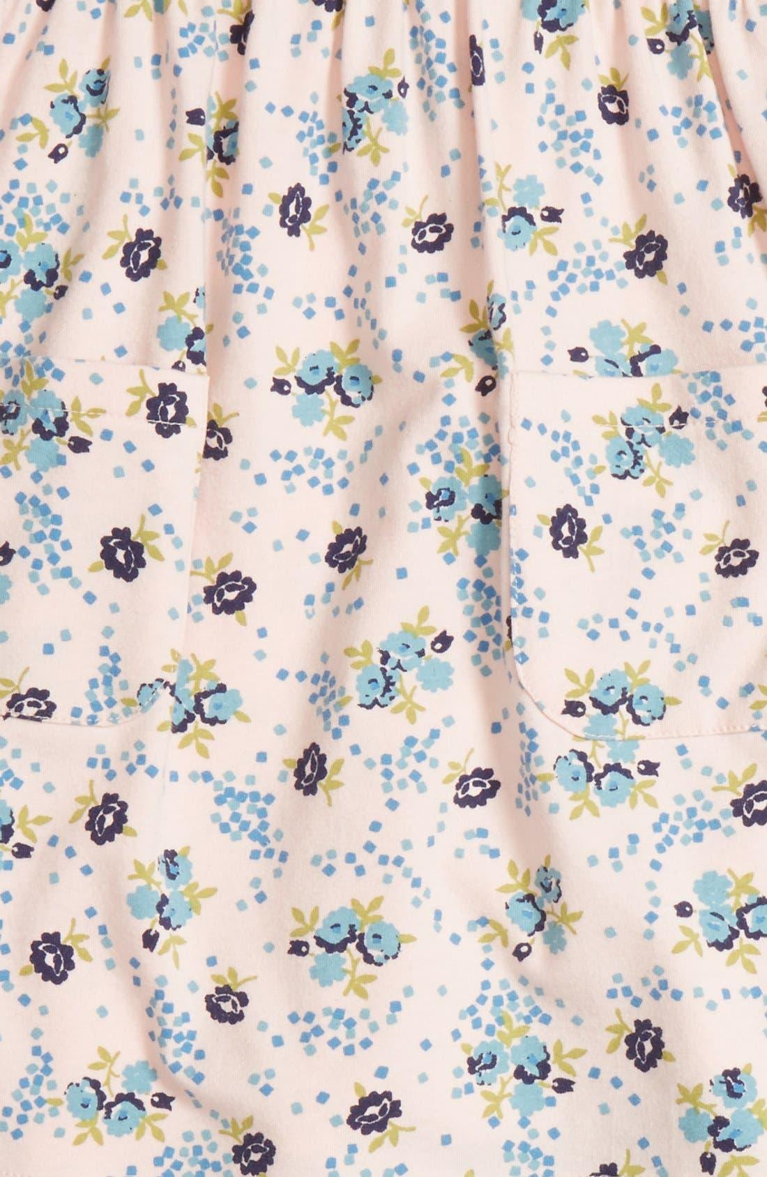 Alternate Image 3  - Tucker + Tate Floral Print Dress & Leggings Set (Baby Girls)