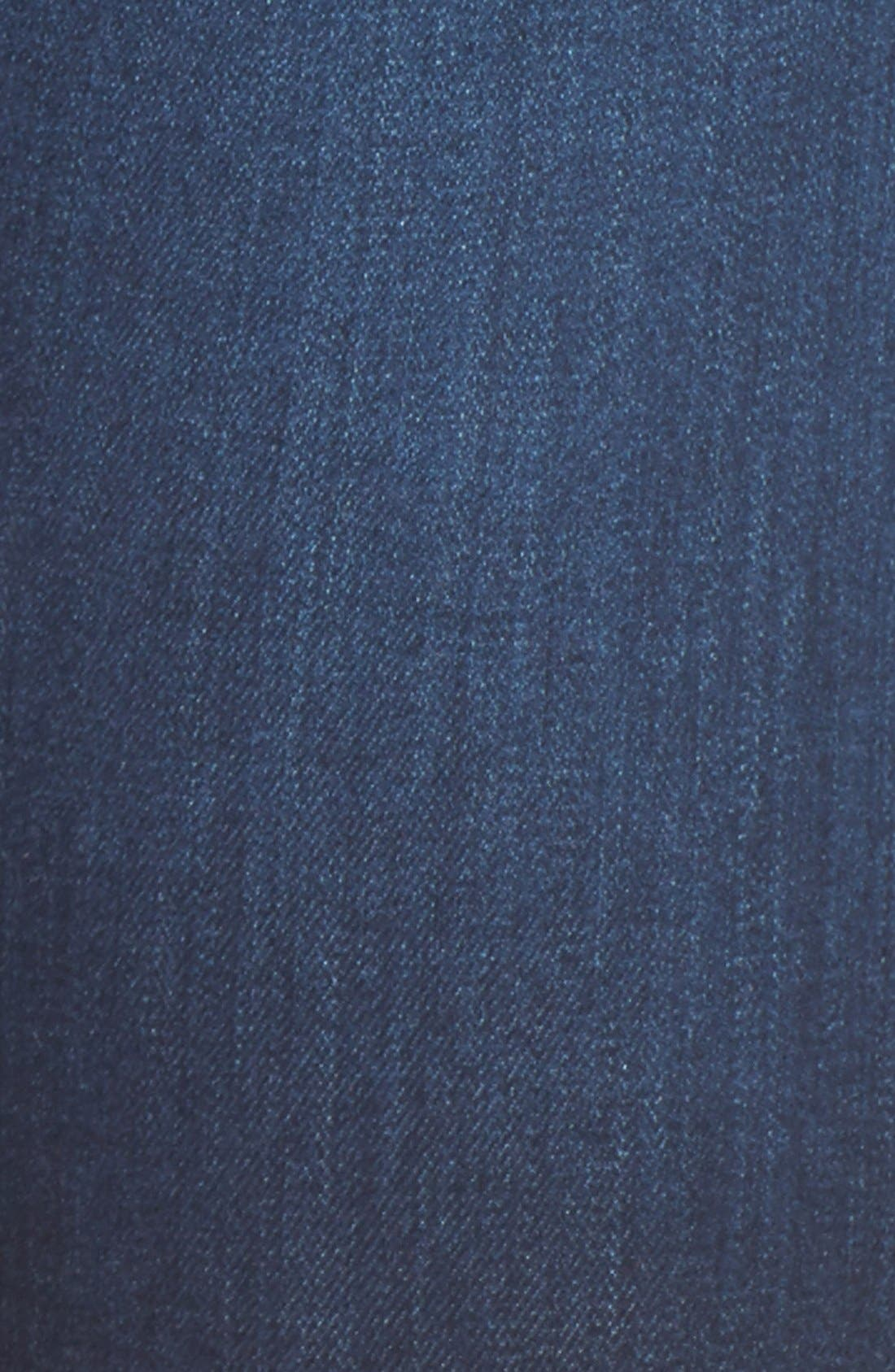 Alternate Image 5  - AG 'The Farrah' High Rise Crop Skinny Jeans