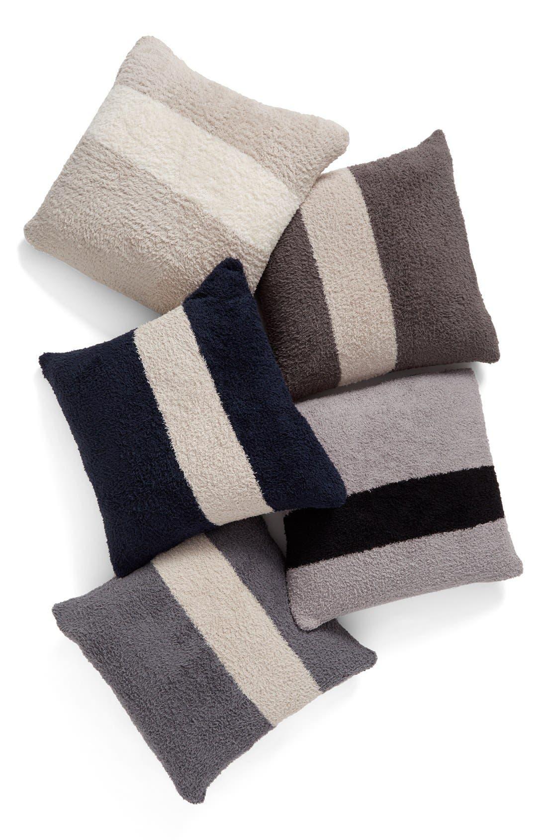 Alternate Image 2  - Barefoot Dreams® CozyChic® Stripe Pillow