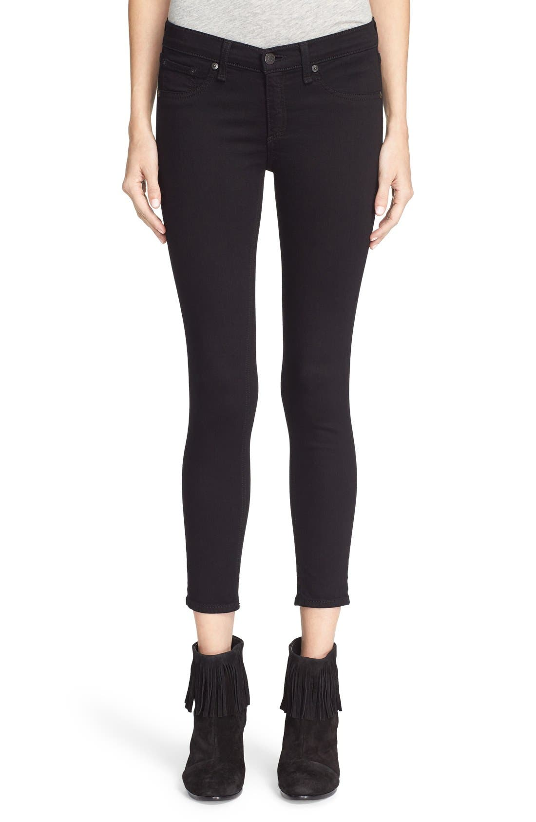 Alternate Image 1 Selected - rag & bone/JEAN Capri Skinny Jeans