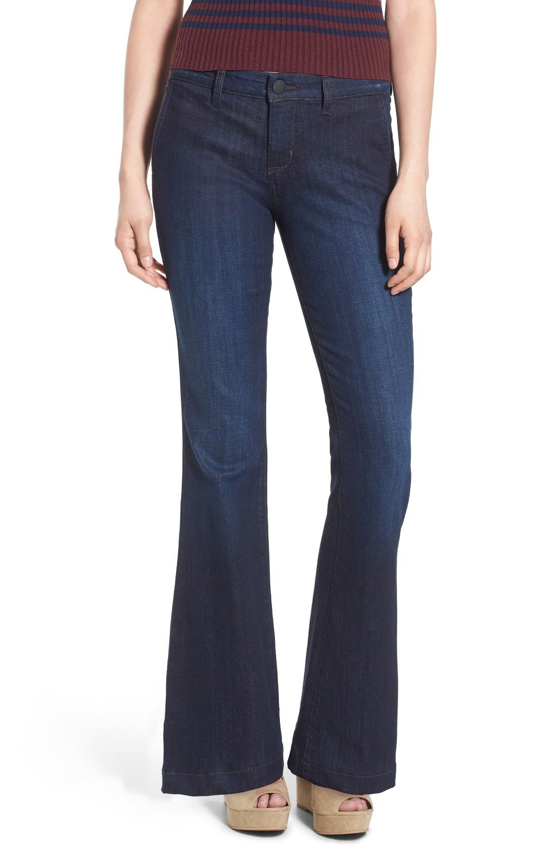 Alternate Image 1 Selected - STS Blue Flare Leg Stretch Jeans (West Surfside)