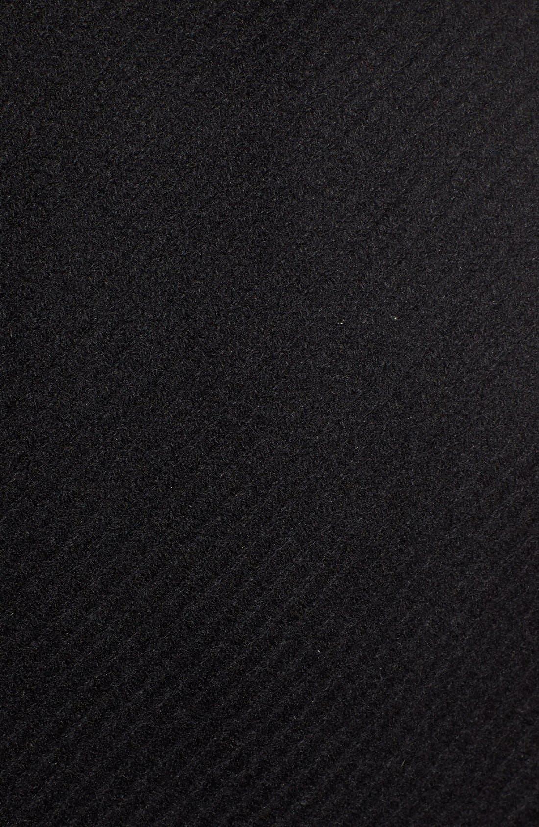 Alternate Image 5  - Trina Turk Wool Blend Military Coat (Regular & Petite)