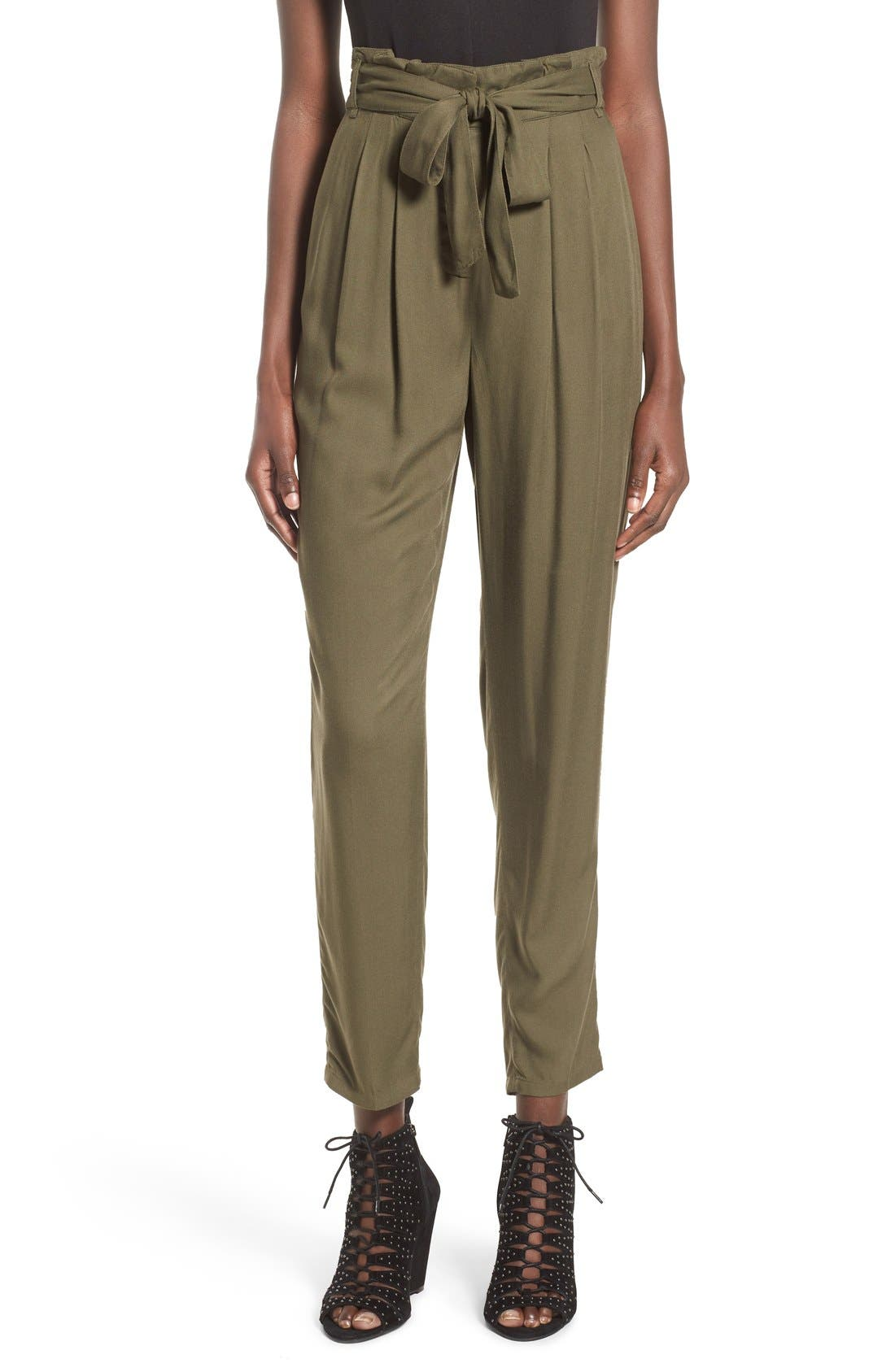 Alternate Image 1 Selected - Leith Tie Waist Pants