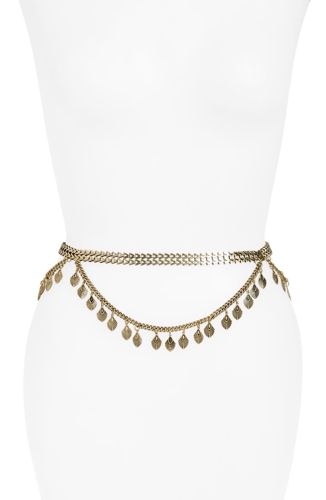 Alternate Image 1 Selected - BP. Draped Chain Belt