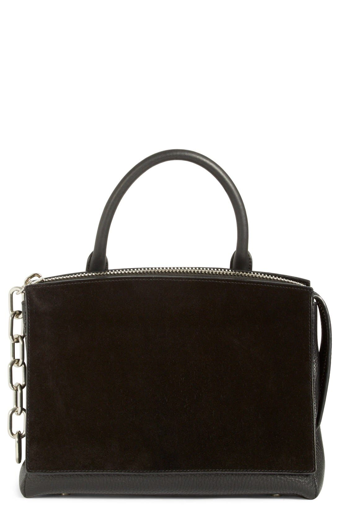 ALEXANDER WANG 'Attica' Leather & Suede Tote
