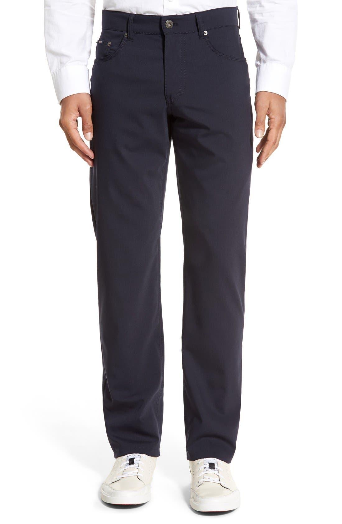 Brax 'Manager' Five-Pocket Wool Pants