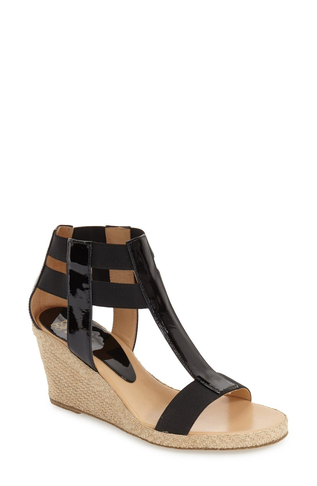 Alternate Image 1 Selected - André Assous 'Pippi' Espadrille Wedge Sandal (Women)