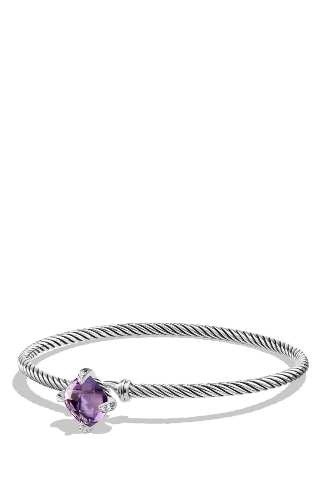 David Yurman 'Châtelaine' Bracelet with Diamonds