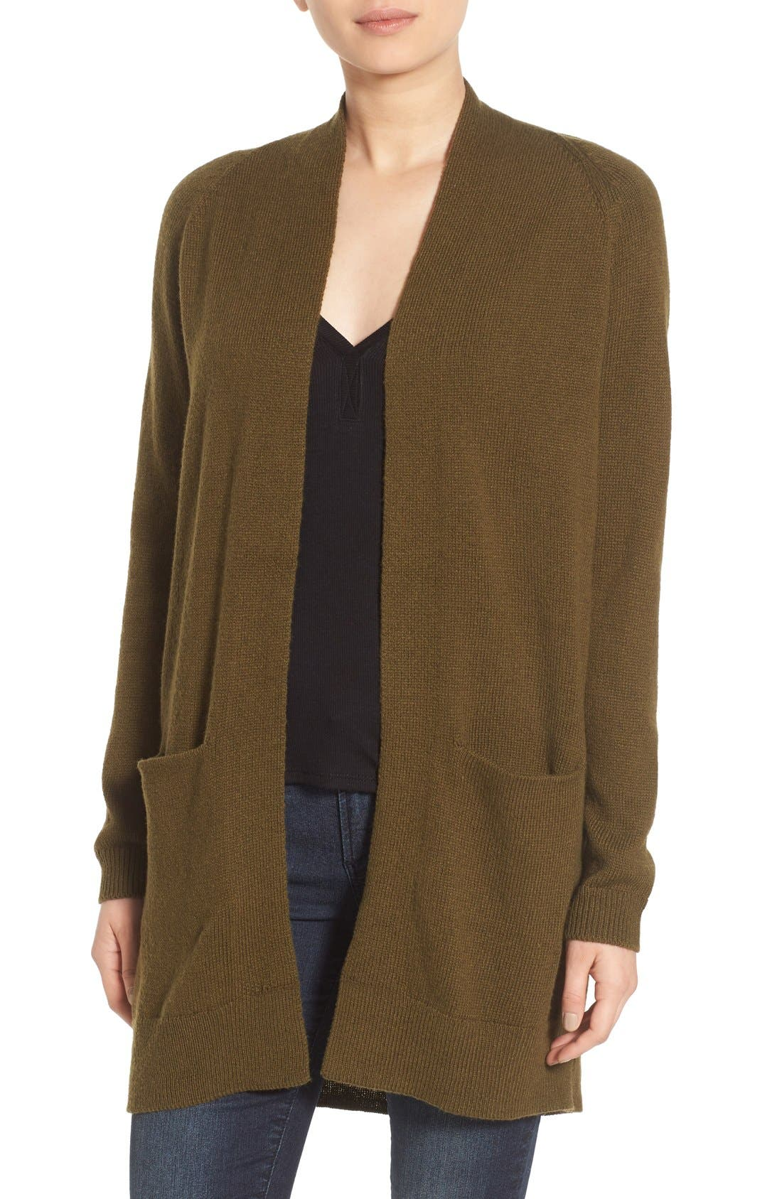 Alternate Image 1 Selected - BP. Open Front Cardigan