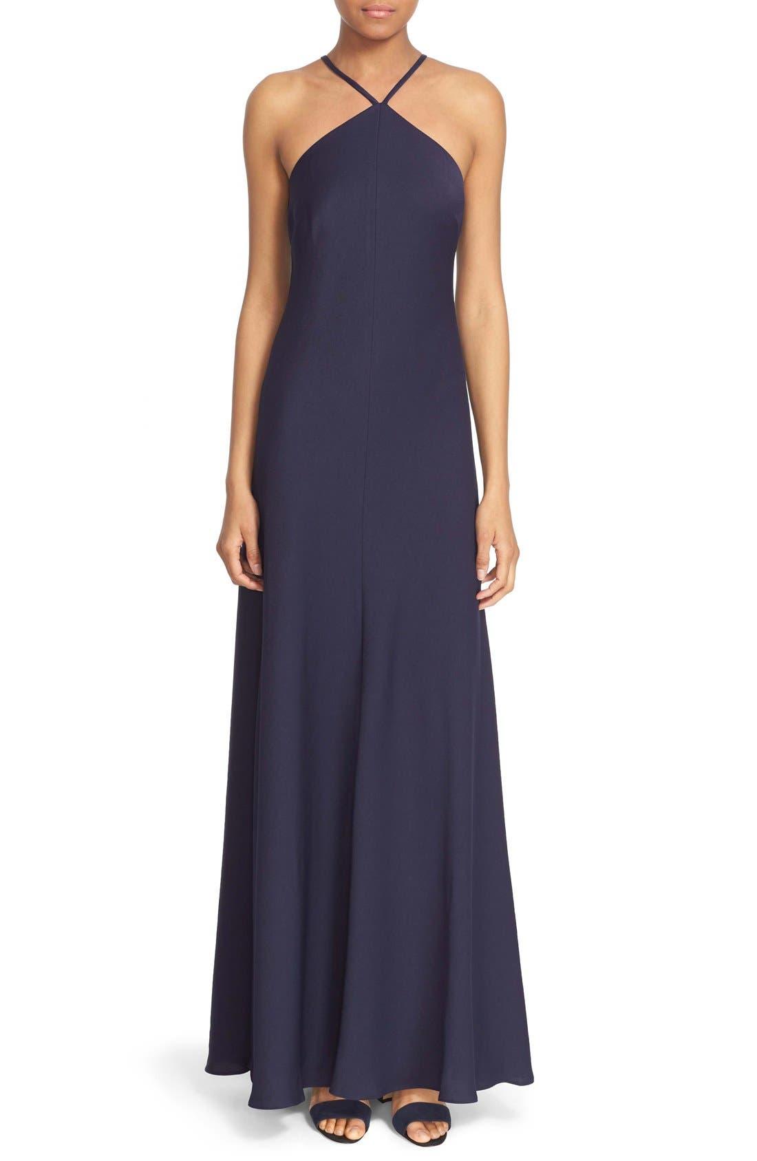 Alternate Image 1 Selected - Ted Baker London Cross Back Maxi Dress