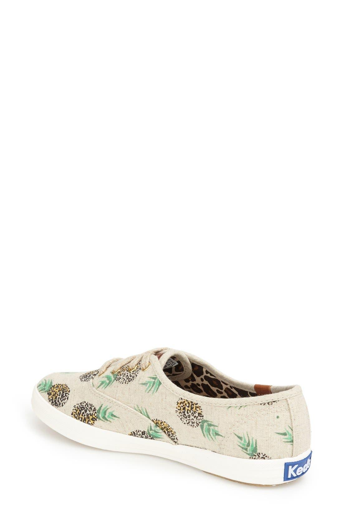 Alternate Image 2  - Keds® 'Champion' Print Sneaker (Women)