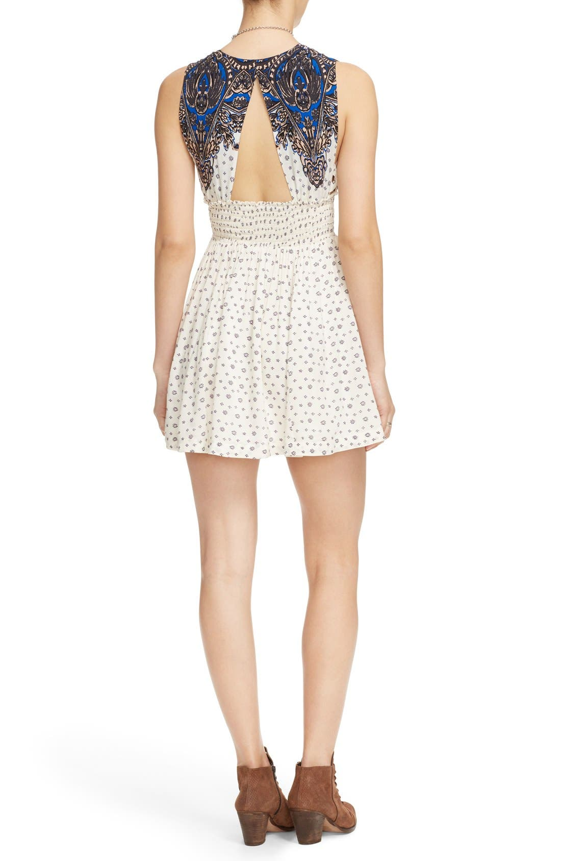 Alternate Image 2  - Free People 'Walking Through Dreams' Fit & Flare Dress