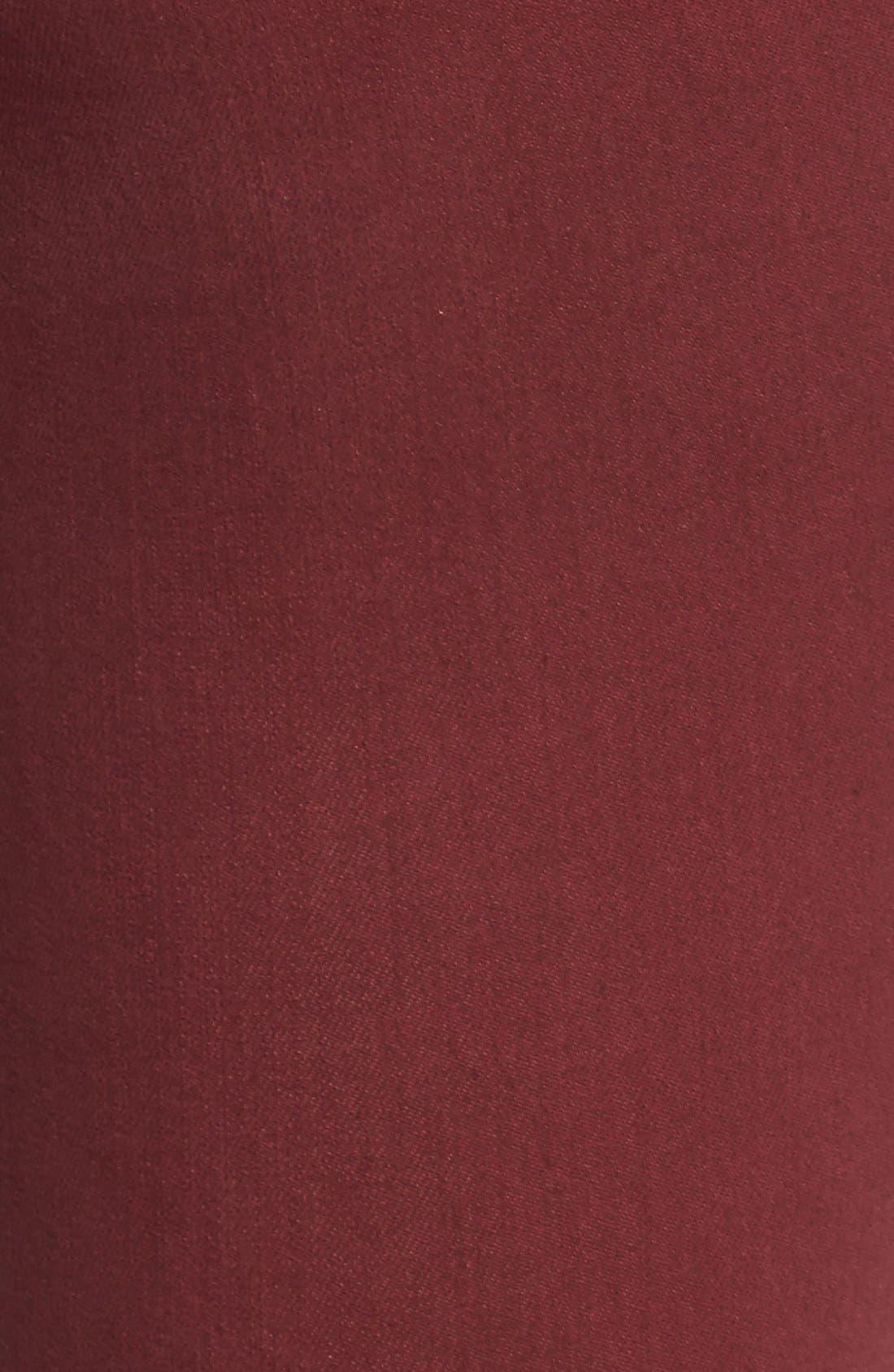 Alternate Image 5  - Caslon® Colored Stretch Skinny Jeans