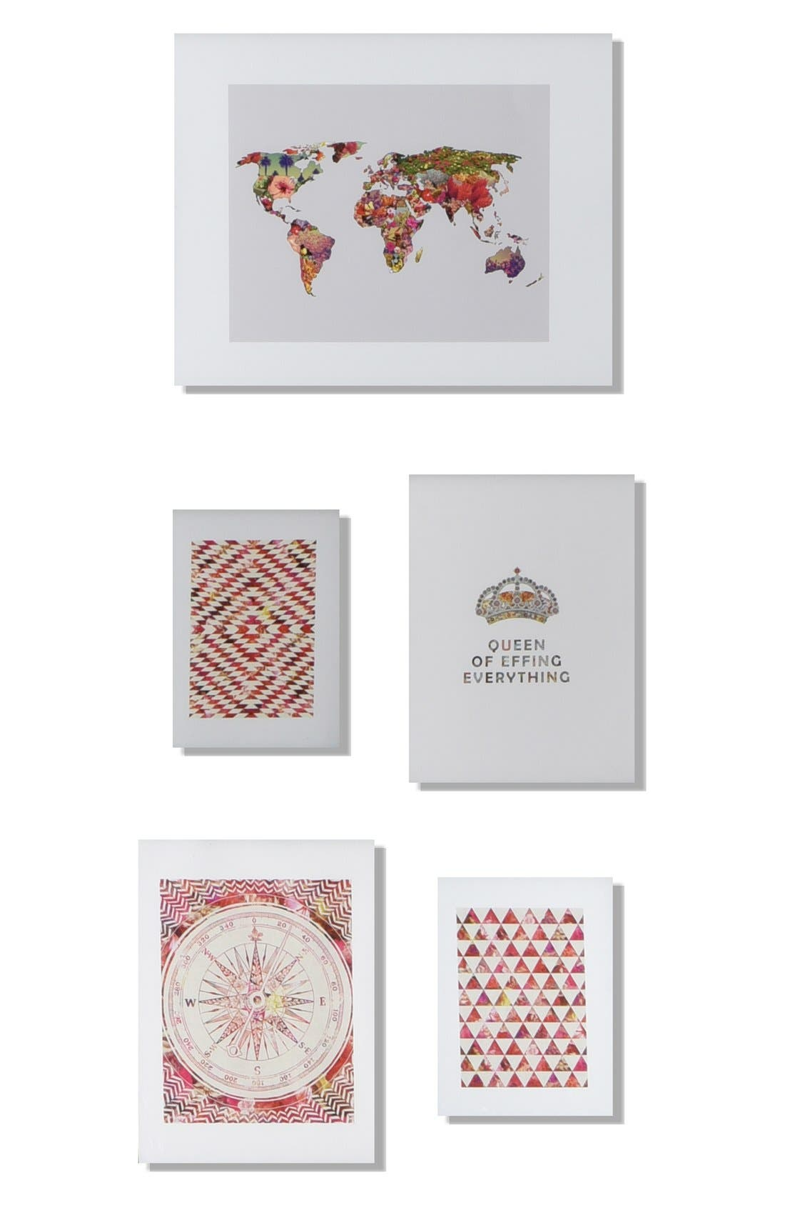 DENY DESIGNS 'It's Your World' Wall Art Gallery