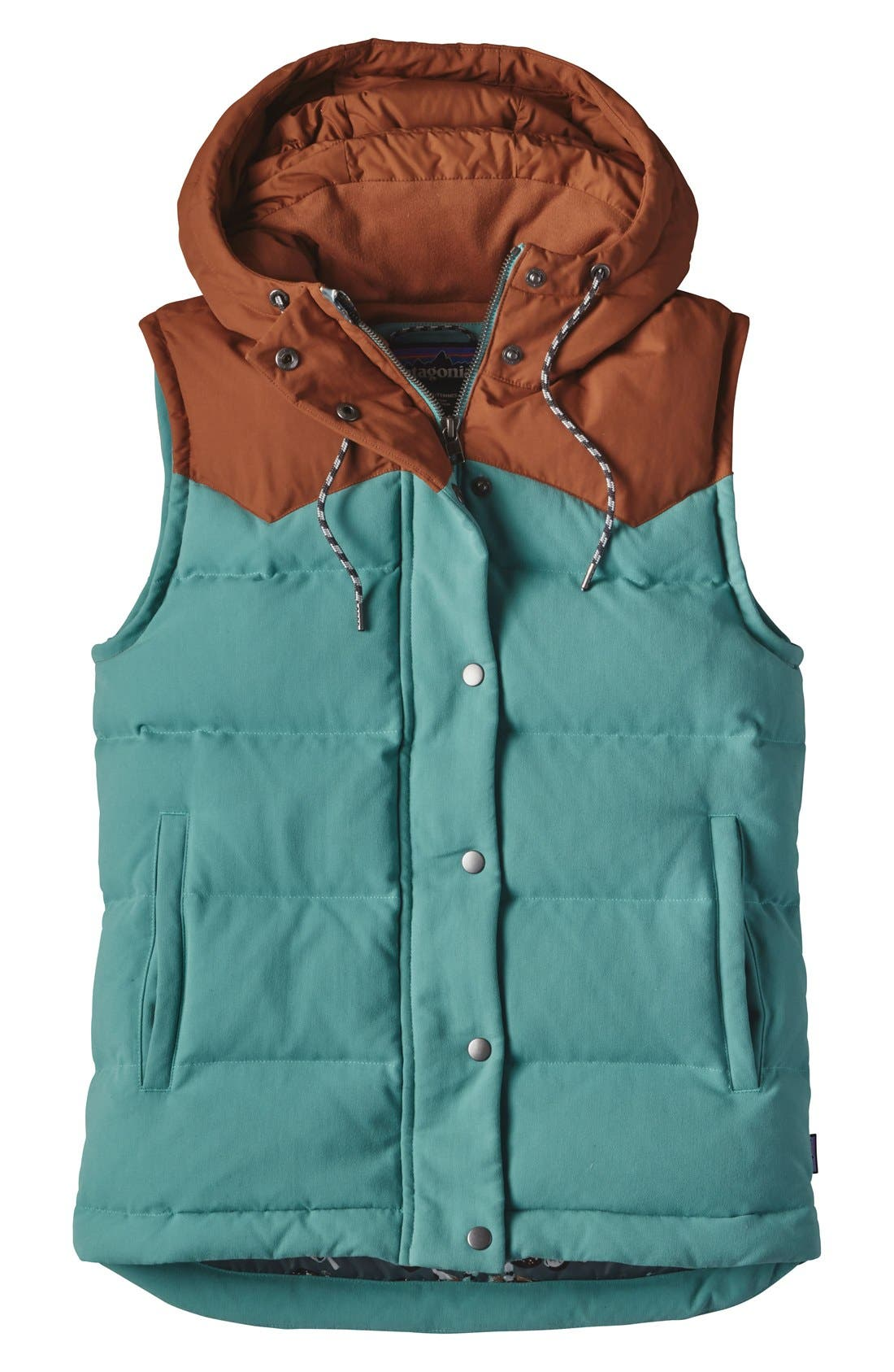 Alternate Image 2  - Patagonia 'Bivy' Water Repellent 600 Fill Power Down Vest