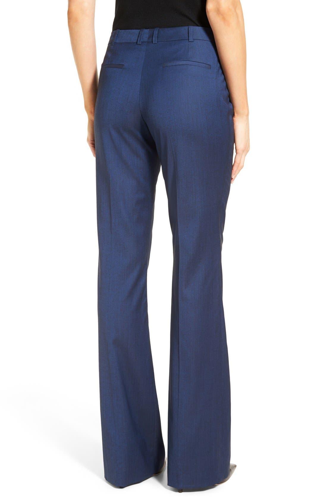 Alternate Image 3  - BOSS 'Tulea' Stretch Wool Blend Suit Trousers