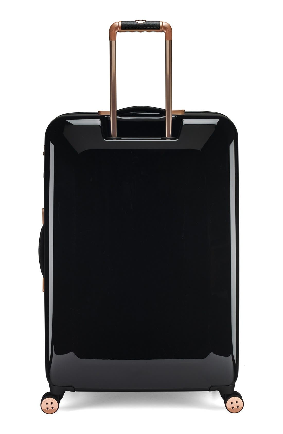 Alternate Image 2  - Ted Baker London 'Large Stencilled Stem' Four Wheel Suitcase (32 Inch)