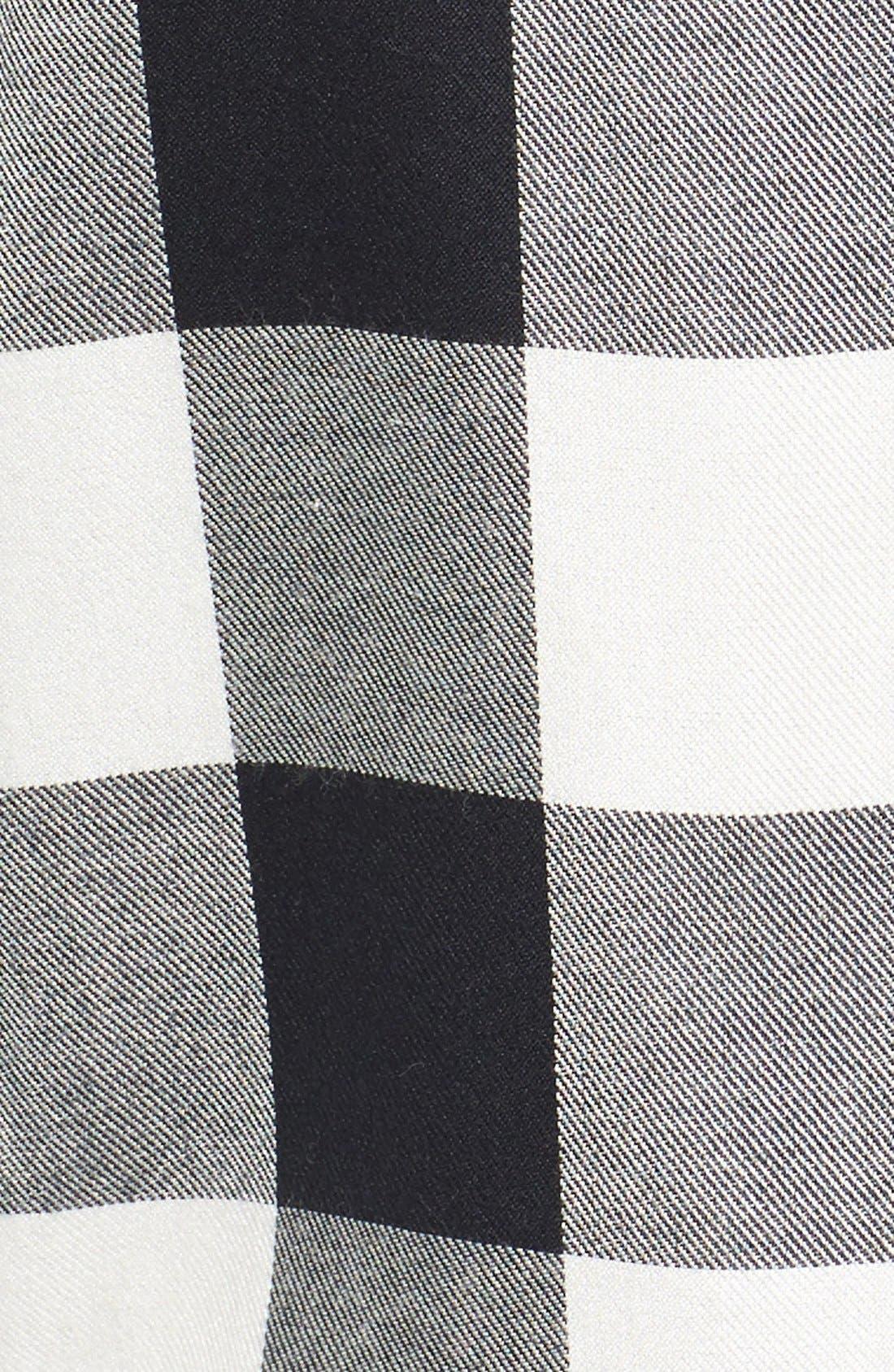Alternate Image 5  - Madewell 'Ex Boyfriend' Buffalo Check Slim Shirt