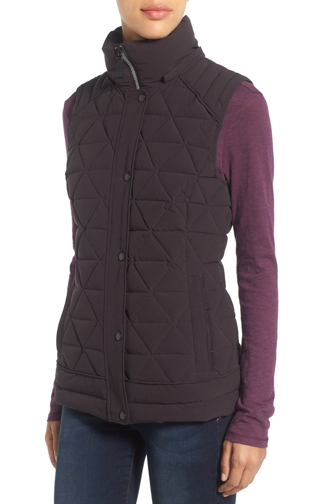 Alternate Image 4  - Marc New York by Andrew Marc 'Thea' Removable Faux Fur Collar Quilted Down Vest