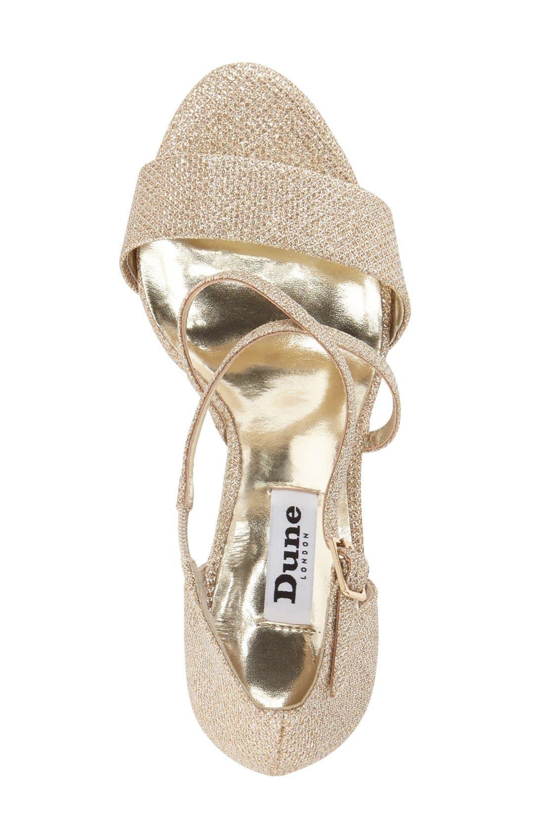 Alternate Image 3  - Dune London 'Mindee' Strappy Sandal (Women)