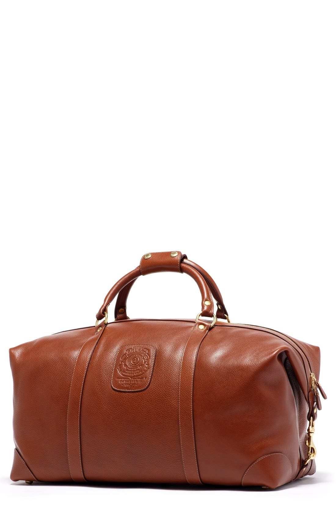 Main Image - Ghurka Cavalier II Leather Duffel Bag