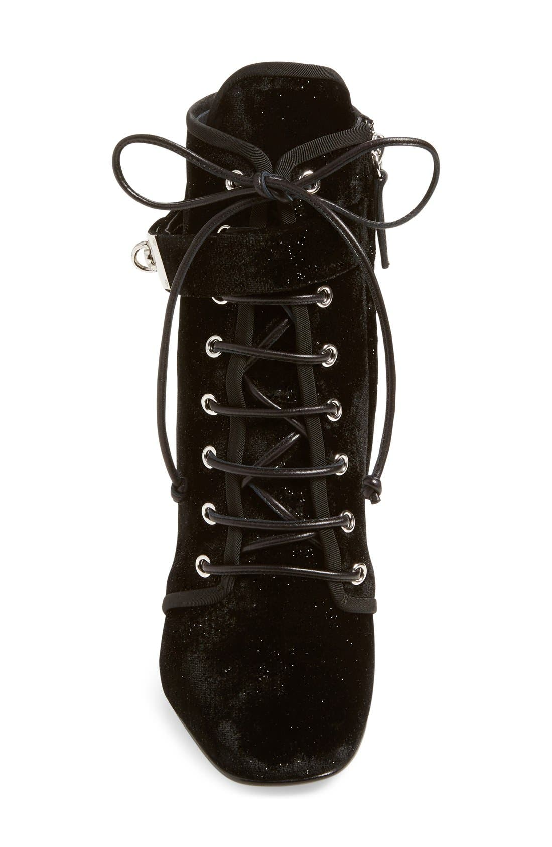 Alternate Image 3  - Giuseppe Zanotti 'Alabama' Lace-Up Bootie (Women)