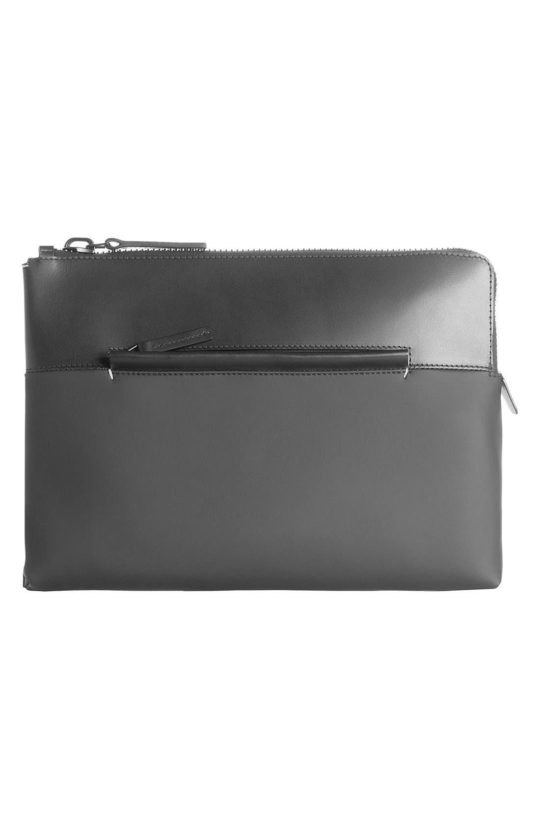Alternate Image 1 Selected - Troubadour Rubber & Leather Portfolio Case