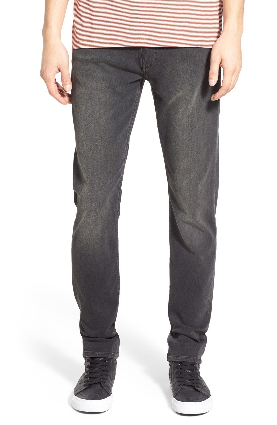 Alternate Image 1 Selected - PAIGE Lennox TRANSCEND Slim Fit Jeans (Grey Iron)