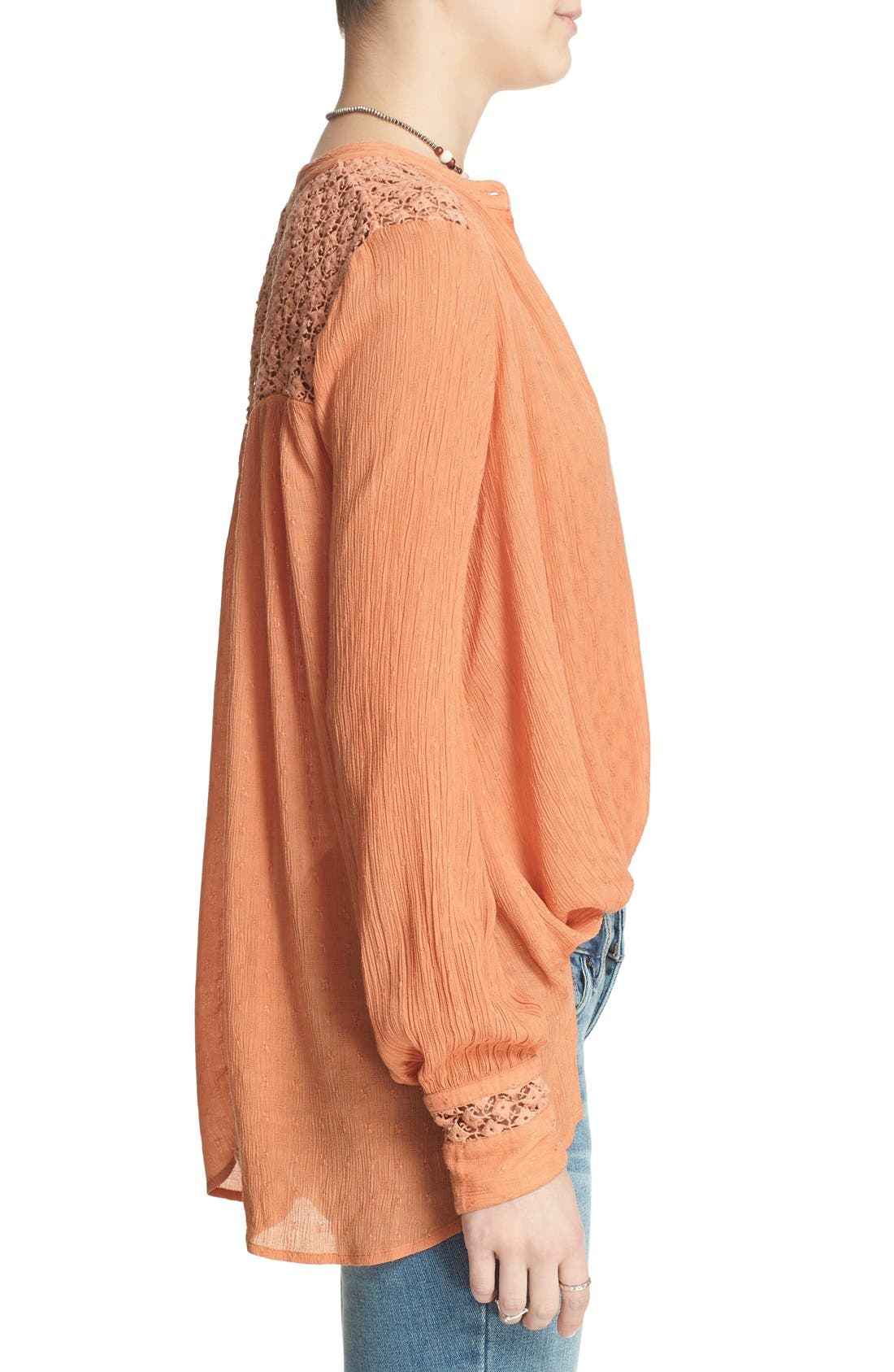 Alternate Image 3  - Free People 'The Best' Button Front Blouse