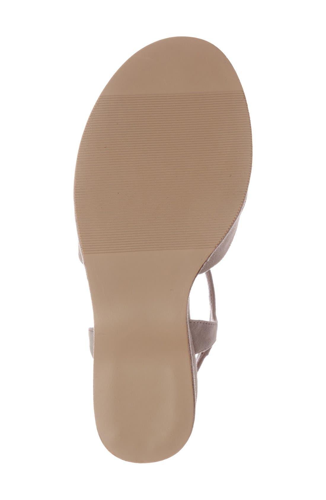 Alternate Image 4  - Steve Madden 'Casper' Platform Wedge Sandal (Women)