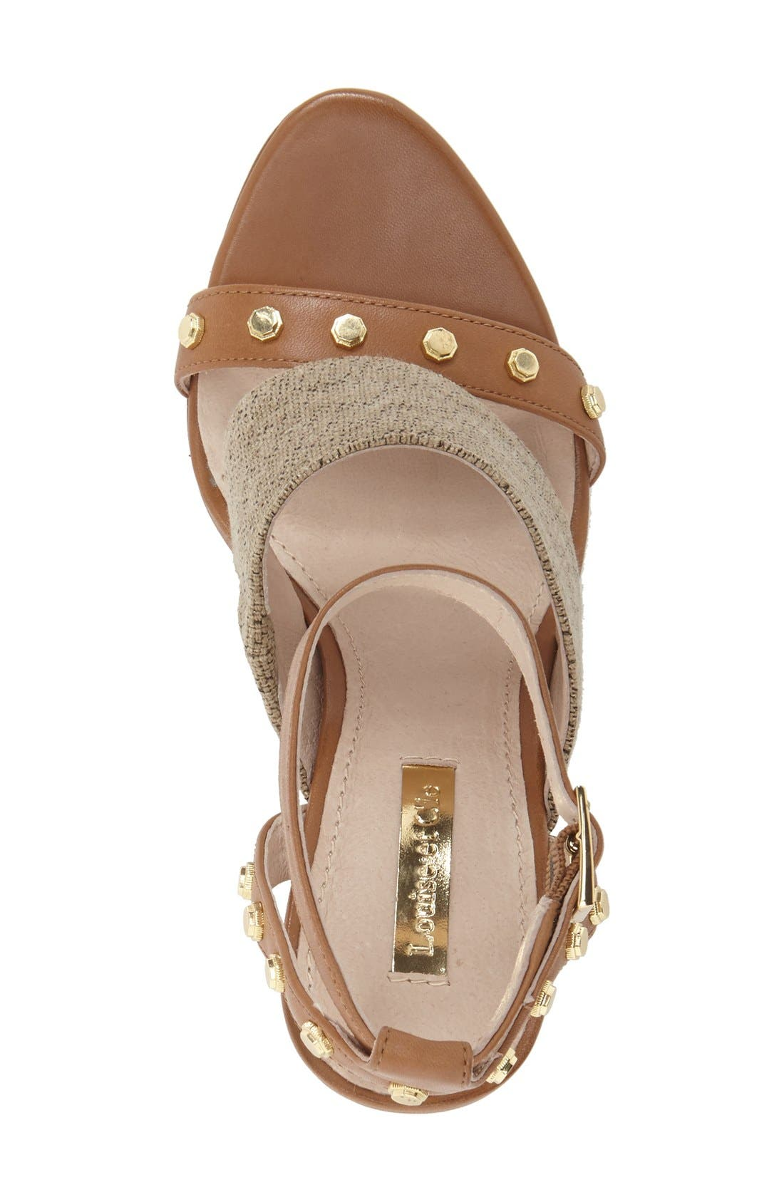 Alternate Image 3  - Louise et Cie 'Kellyn' Studded Sandal (Women)