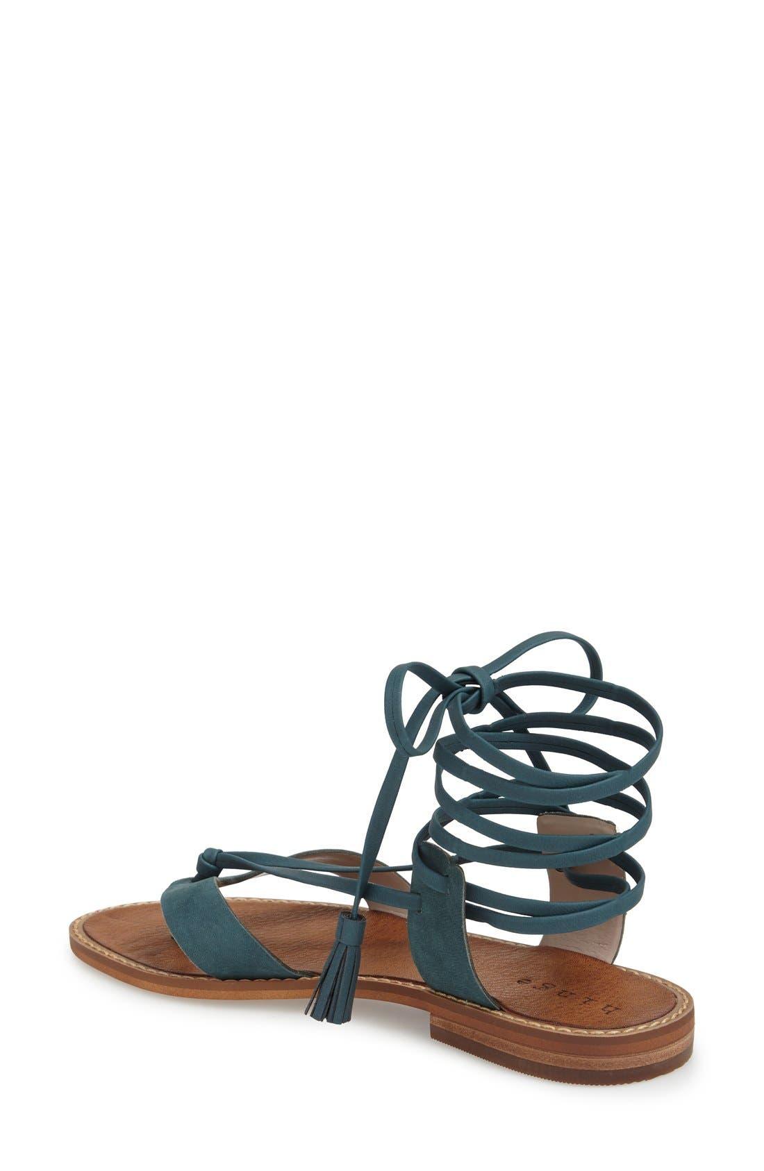 Alternate Image 2  - Hinge 'Avery' Wraparound Strap Sandal (Women)