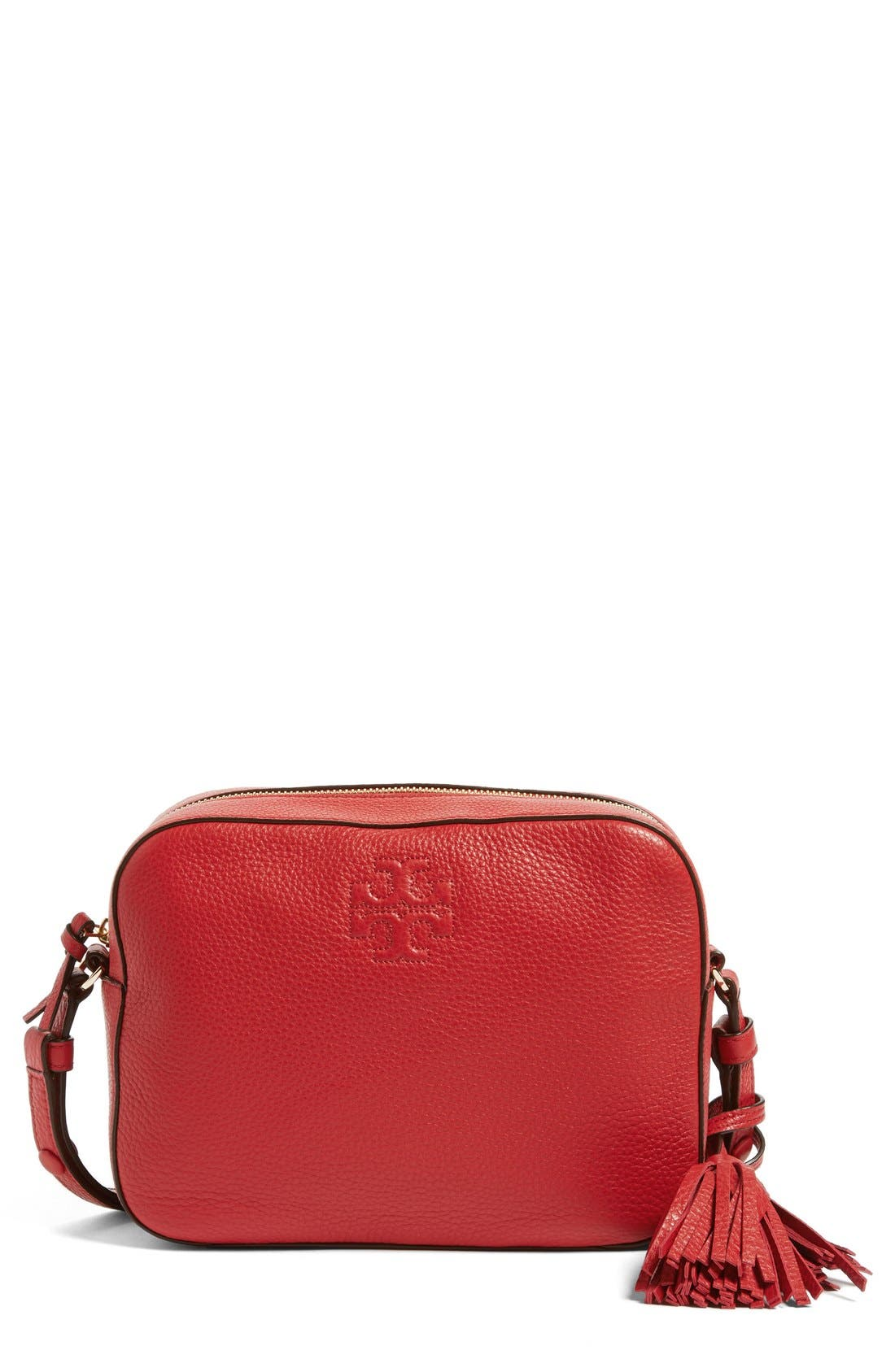 Main Image - Tory Burch 'Thea' Leather Shoulder Bag