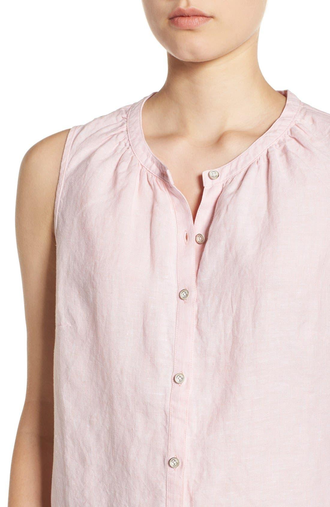 Alternate Image 4  - Tommy Bahama 'Sunset Chambray' Sleeveless Shirt