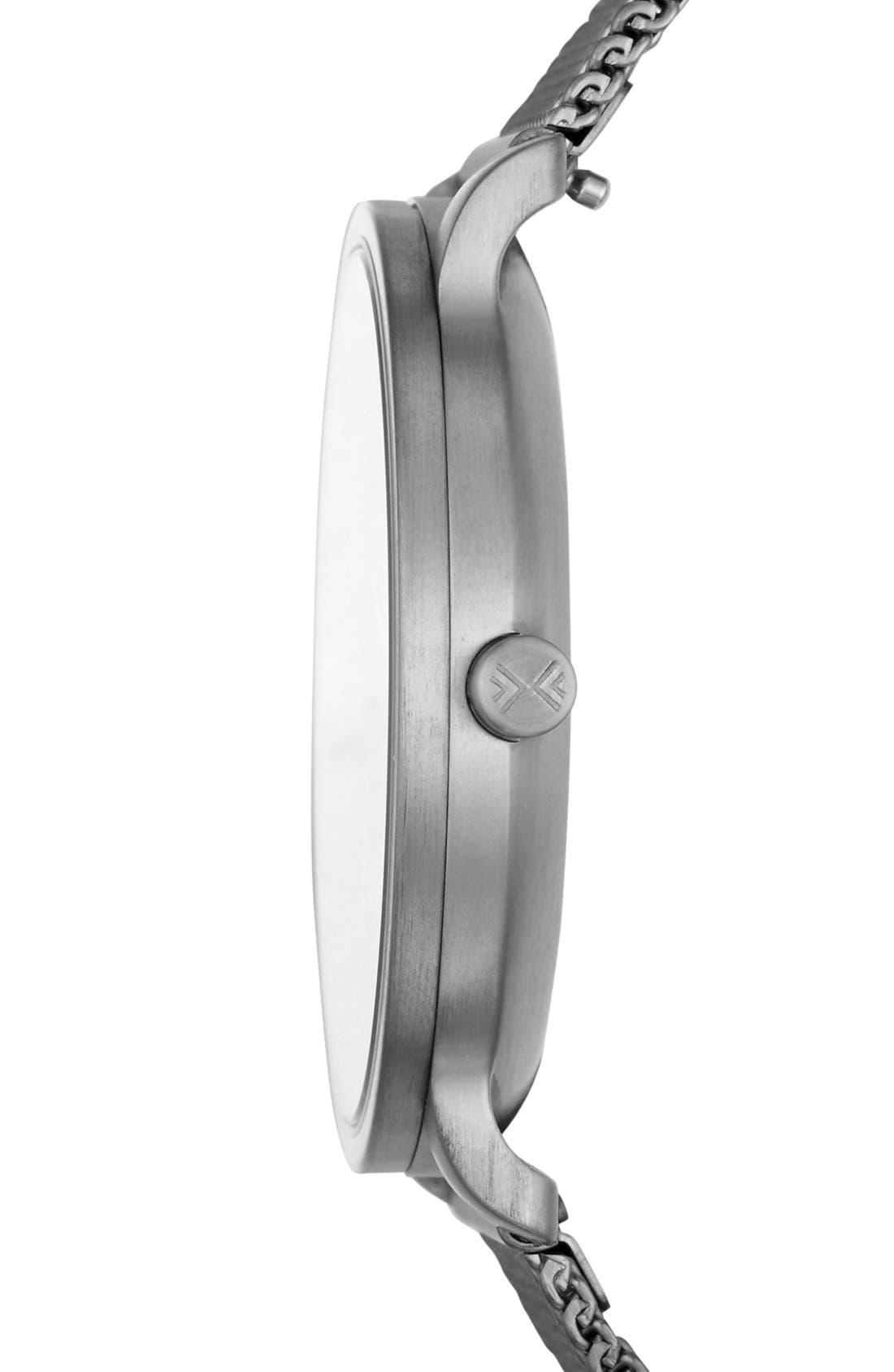 Alternate Image 2  - Skagen 'Hagen' Mesh Strap Watch, 40mm