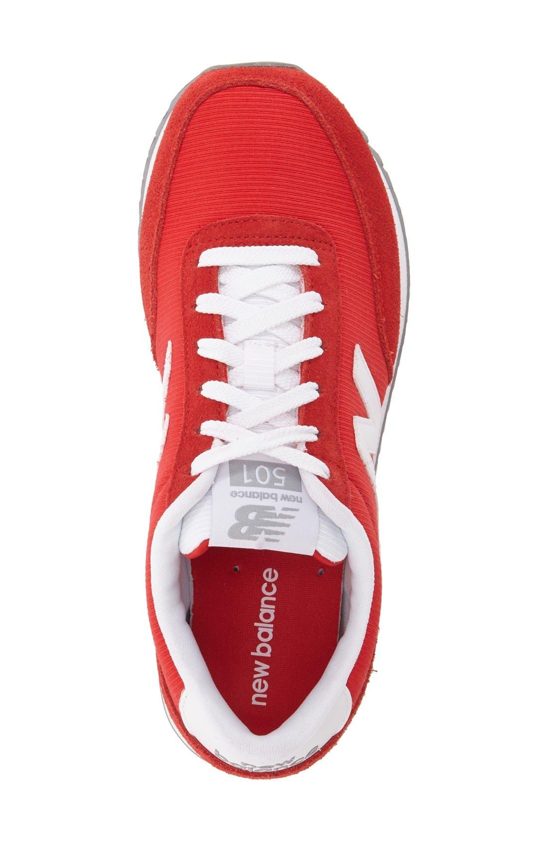 Alternate Image 3  - New Balance '501' Sneaker (Women)