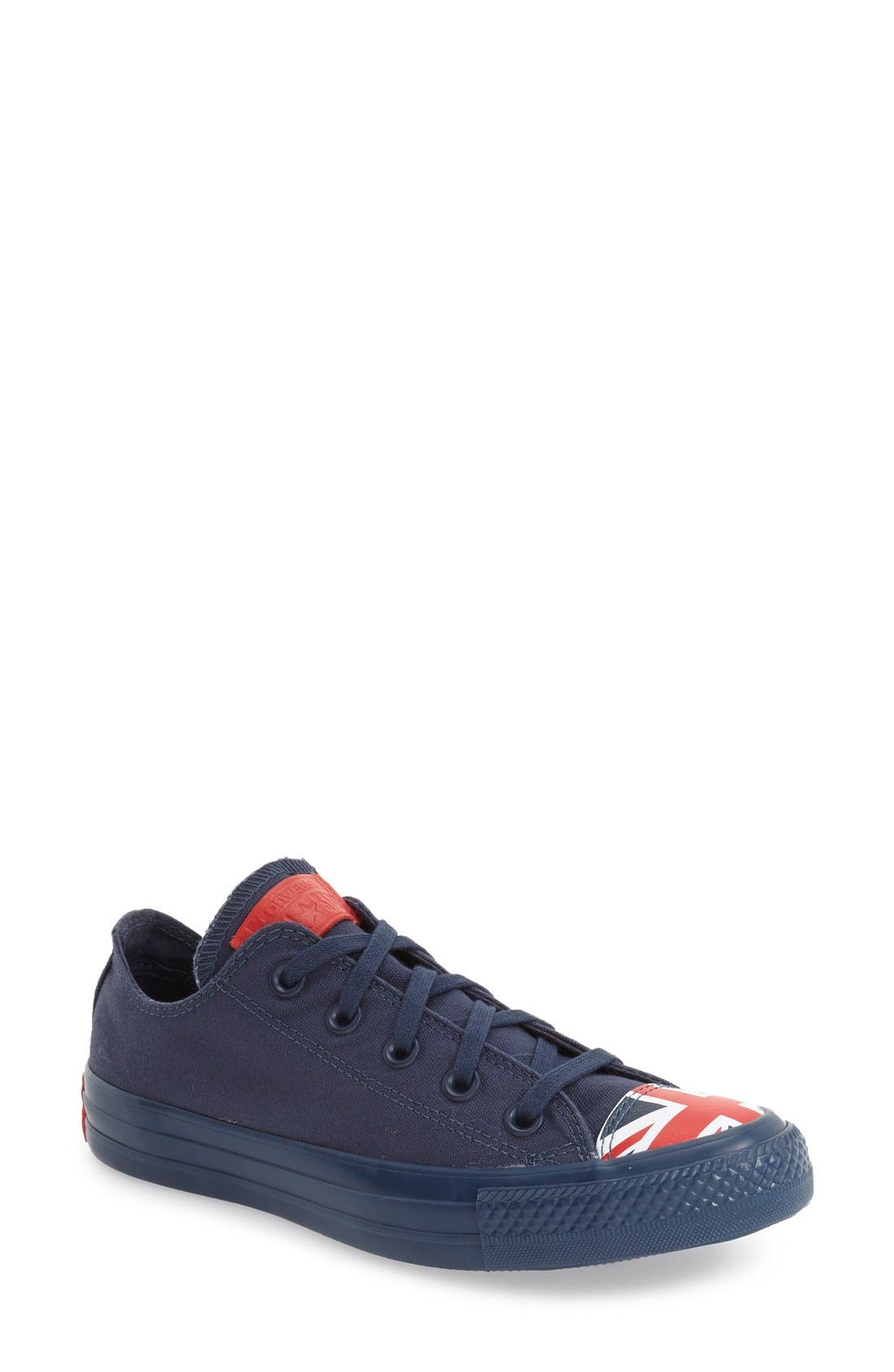 Main Image - Converse Chuck Taylor® All Star® 'Ox - Flag Toe' Low Top Sneaker (Women)