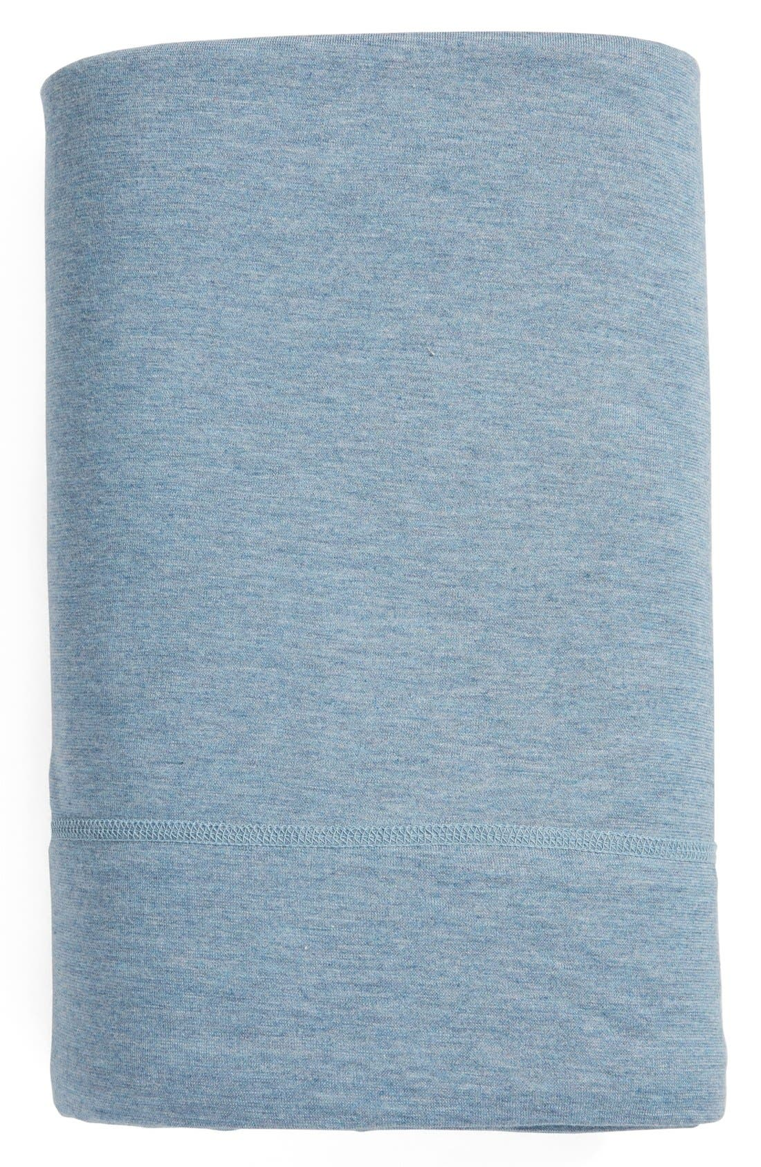 Calvin Klein Modern Cotton Collection Cotton & Modal Flat Sheet