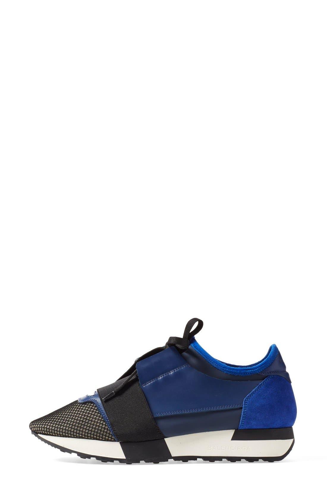 Alternate Image 4  - Balenciaga Mixed Media Sneaker (Women)