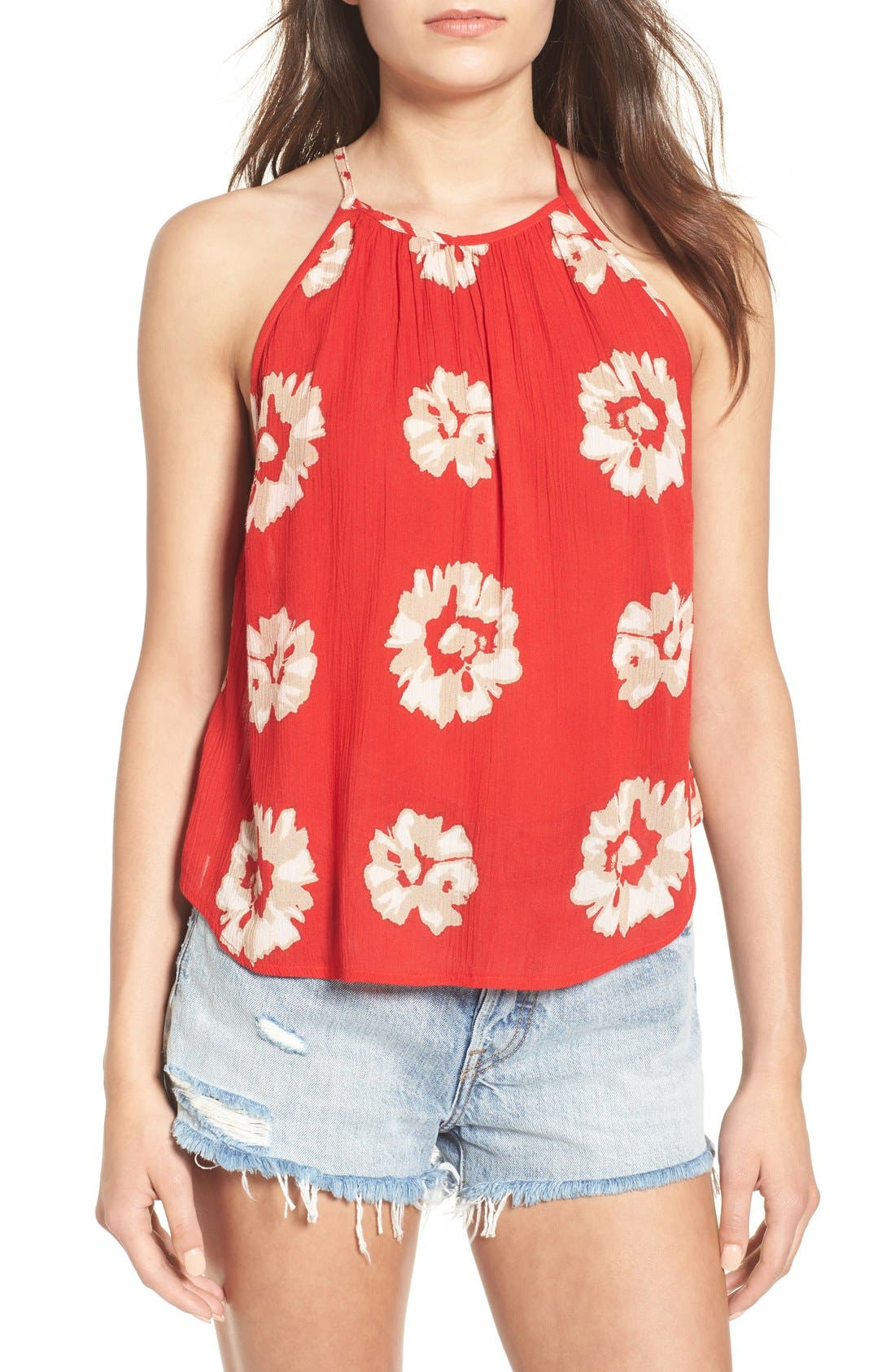 Alternate Image 1 Selected - Band of Gypsies Print High Neck Tank