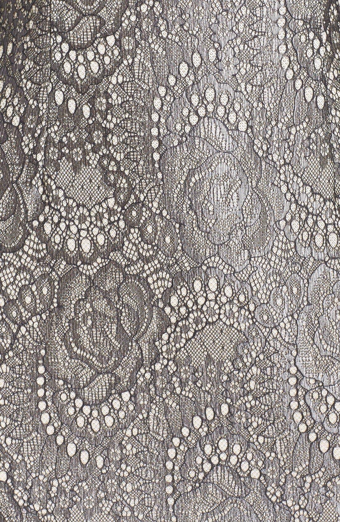 Alternate Image 5  - Eliza J Bonded Lace Sheath Dress