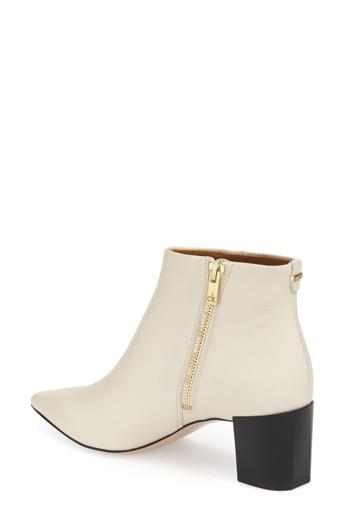 Alternate Image 2  - Calvin Klein 'Narla' Block Heel Bootie (Women)
