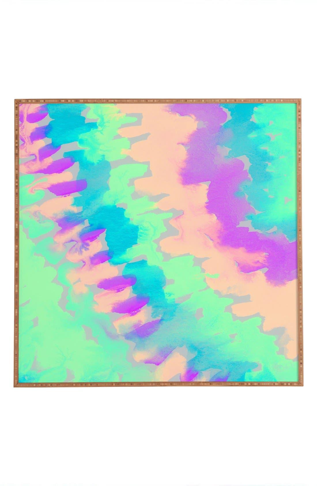 Alternate Image 1 Selected - DENY Designs 'Some Kind of Wonderful' Framed Wall Art